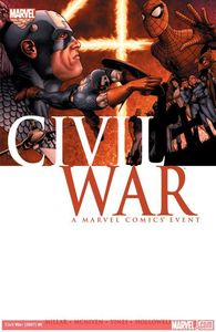 Marvel comics civil war tp
