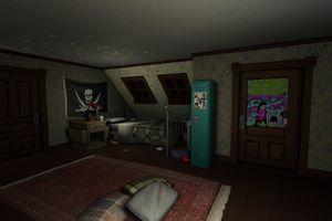 Gone home bedroom 1920.0