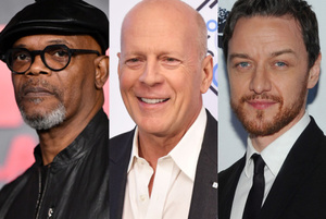 Samuel l jackson bruce willis james mcavoy1