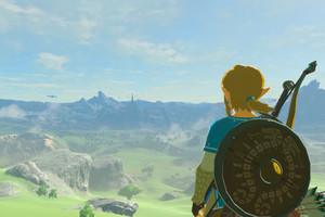 The legend of zelda breath of the wild link vista 1920.0