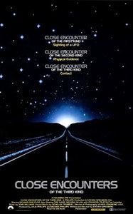 Close encounters of the third kind %281977%29 theatrical poster