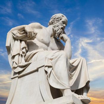 socrates thinking - mindofliberation.com