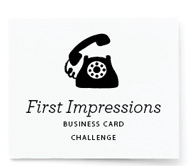 First Impressions Business Card Challenge