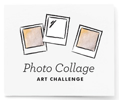 Photo Collage Art Challenge