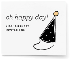 Oh Happy Day! Kids' Birthday Party Invitation Challenge