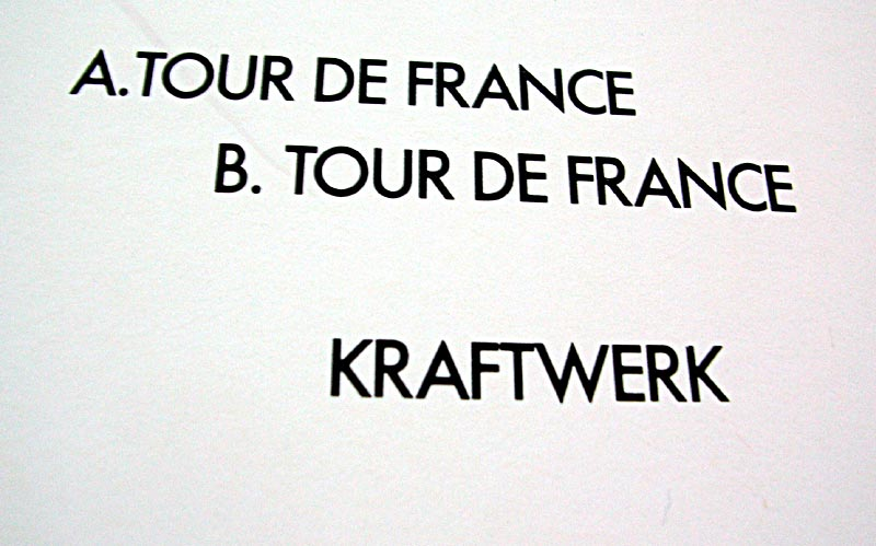 Kraftwerk Tour De France 1983