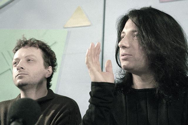 Глеб (слева) и Вадим Самойловы.