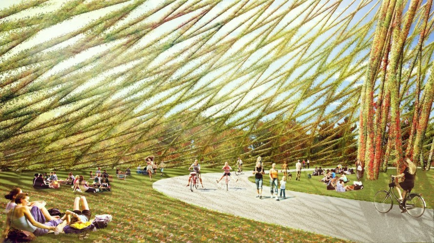 Montreal dome by Dror, Montreal Biosphere architecture, Parc Jean-Drapeau architecture, geodesic dome in Montreal