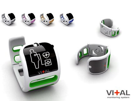 Vital Monitoring System Watch