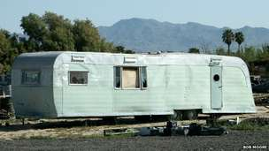 Trailer in Bakersfield, California