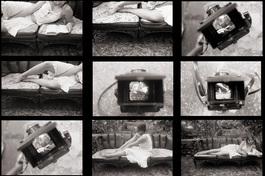 "Stills from short film ""Janela"". Spring 2006. Milena Lacheta in the photo. © Debora Prado 2009"