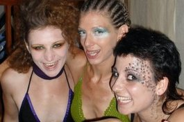 3 Witches backstage at Macbeth