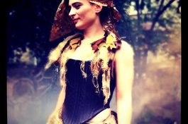 As Mustardseed in A Midsummer Night's Dream