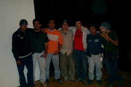 Me and six Mexicans