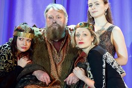 Cordelia in King Lear, Guildford Shakespeare company