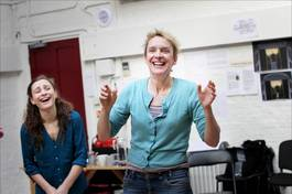 Rehearsals at the Old Vic with Lucy Bailey