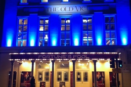 Working at the Old Vic Theatre