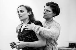 Rehearsing Suddenly Last Summer with Polly Lister