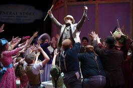 The Music Man, Harold Hill - Photo: AST