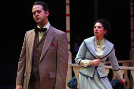 The Music Man, Harold Hill - with Gabby Perez, Photo: AST