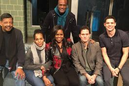 American Son • Cast and Michelle Obama