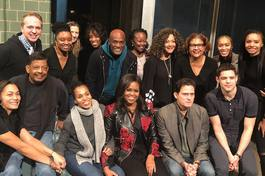 American Son • Cast and Crew and Michelle Obama