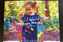 The Colorful world of Monica cover