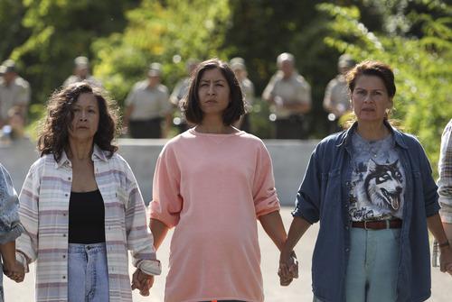 Haudenosaunee (Mohawk) women unite in a scene from BEANS