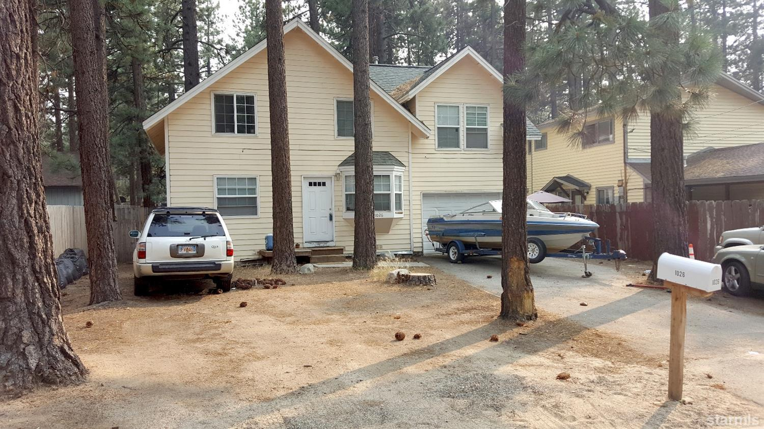 1026  Moss Road, SOUTH LAKE TAHOE