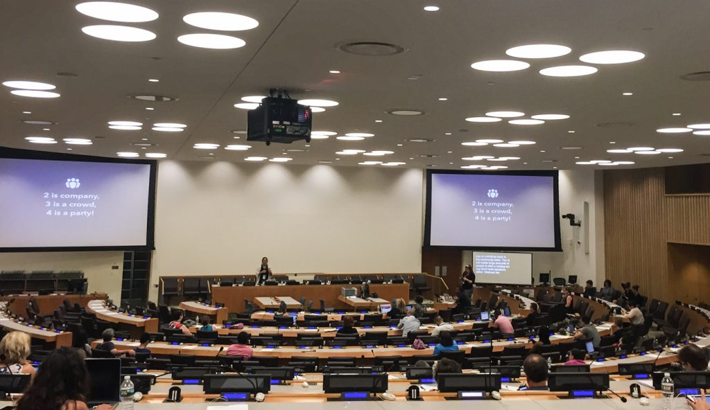 The experience of attending a WordCamp at the United Nations is unlike any other.