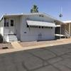 Mobile Home for Sale: Great Doublewide mobile in 55+park Lot 438, Mesa, AZ