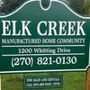 Mobile Home Park for Directory: Elk Creek MHP, Madisonville, KY