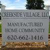 Mobile Home Park for Directory: Creekside Village, Hutchinson, KS