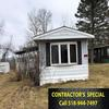 Mobile Home for Sale: CONTRACTOR SPECIAL - Used 2-Bdrm Mobile Home, Utica, NY