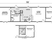 New Mobile Home Model for Sale: Arnhem by Champion Home Builders