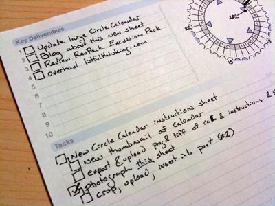 Macro Micro Checklist Example