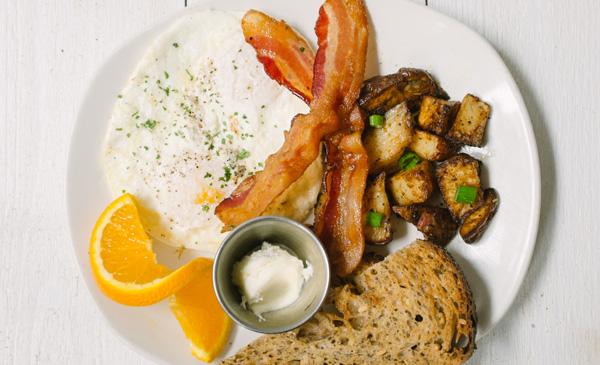 Bacon + Eggs