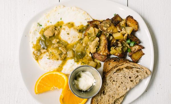 Chili + Eggs