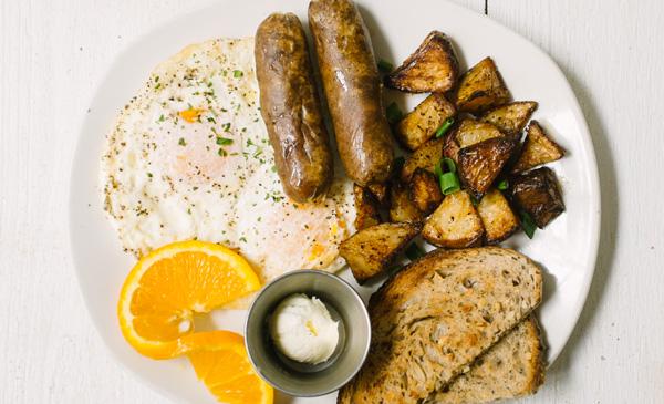 Sausage + Eggs