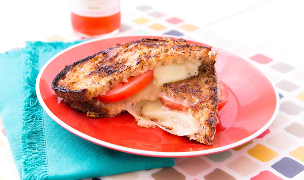 Grill Tomato+Cheese