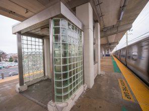 Platform Entrance to Elevator at Merrick Station - 01-29-19