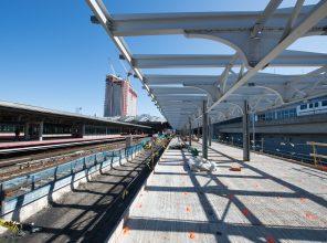 Platform F Canopy Steel 03-28-19