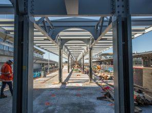 Platform F Facing West 03-28-19