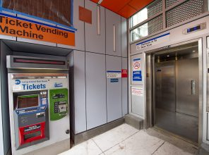 Flushing Main Street Ticket Vending Maching and New Elevator 08-31-2018