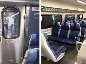 New M9 Rail Car Interior