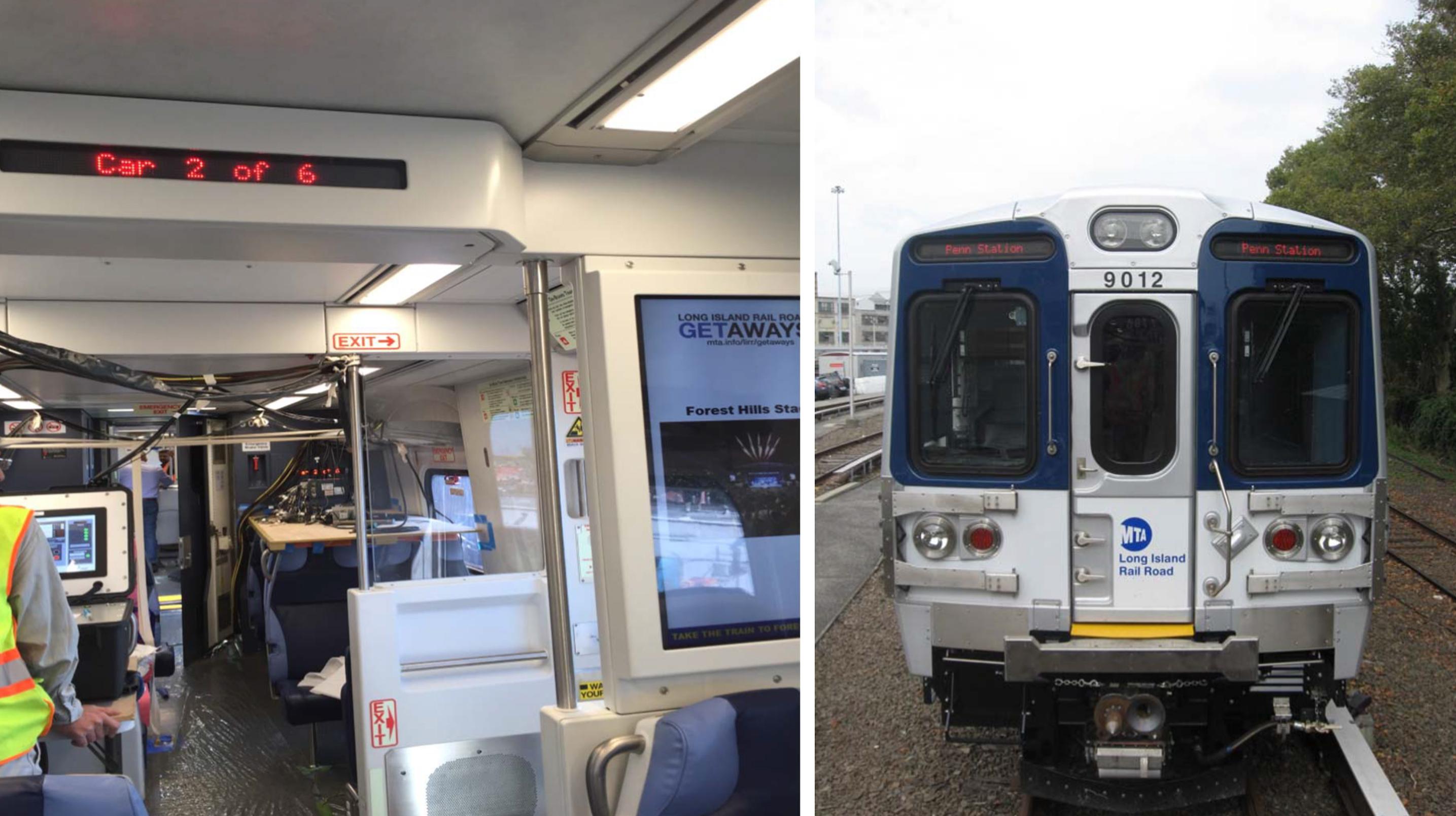 New M9 Rail Car Destination Signs