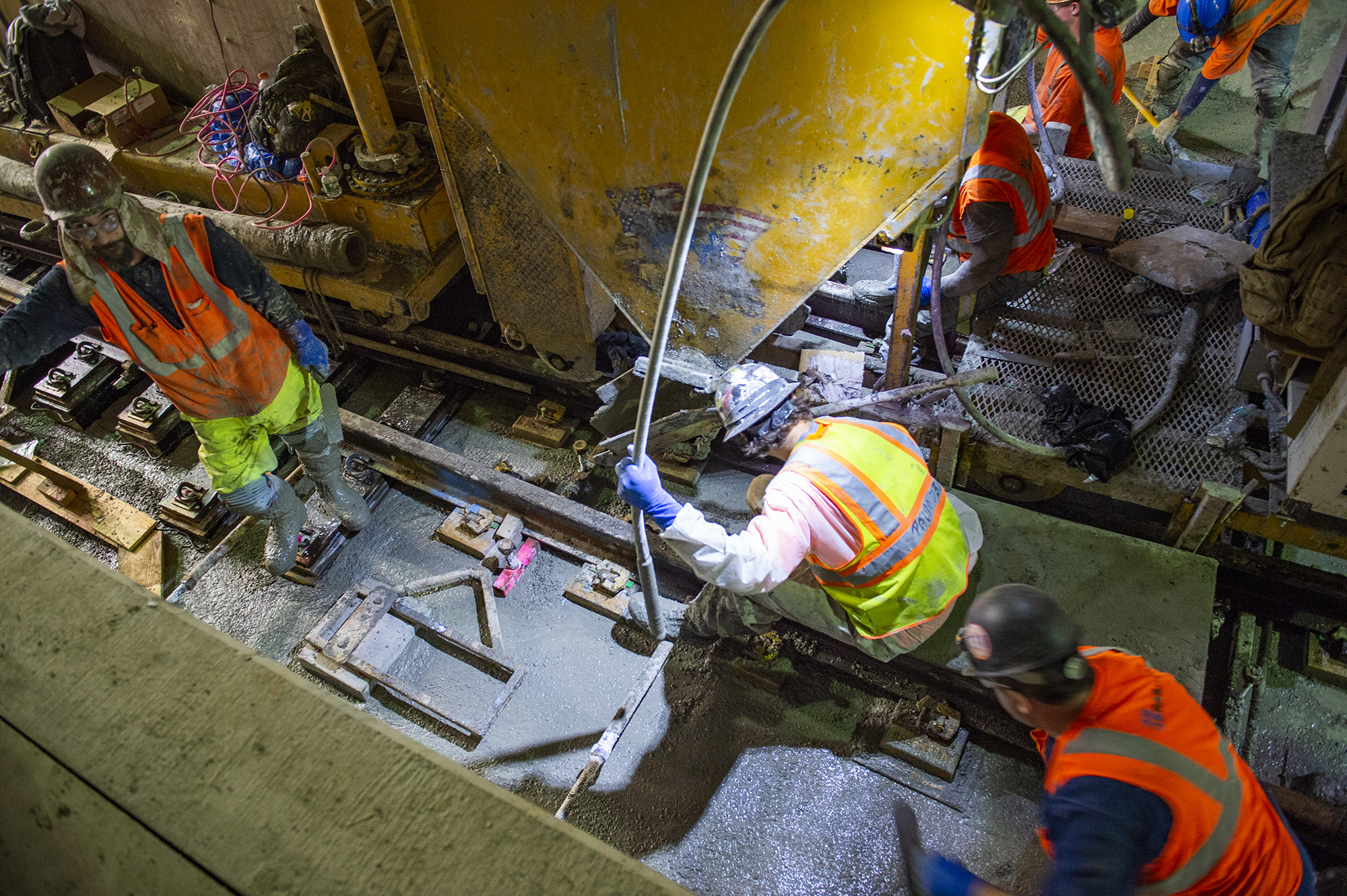 9caa152c0 East Side Access - Manhattan Concrete Pour 11-06-18