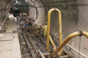 East Side Access - Manhattan Concrete Pour 11-06-18