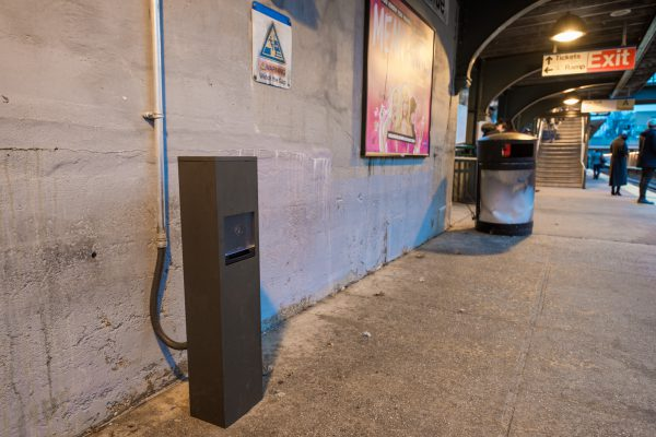 New USB Charging Station Bayside Station Platform 12-14-18