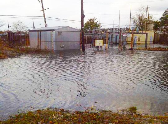 Oceanside Substation After Hurricane Sandy
